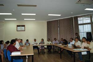CAC Senior Management is Briefed on Timor-Leste Public Financial Management