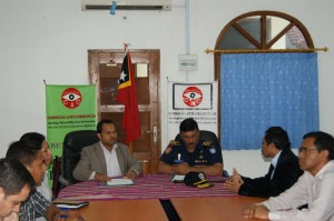The signing of the Cooperation Agreement between CAC and PNTL was witnessed by CAC's Two Deputy Commissioners and National Directors and staff and representatives from PNTL today, Friday 07/09/2012