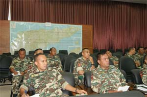 The Anti-Corruption Commission (CAC) organizes a one-day workshop with the Secretary of State for Defence on Corruption and Procurment Wednesday, 23 April 2013 at the Headquarter of the F-FDTL in Dili
